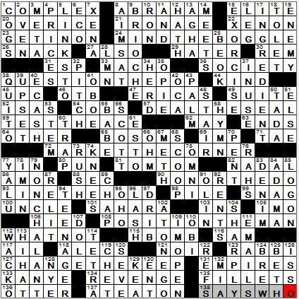 18-Nov-12-LA-Times-Crossword-Solution & 18-Nov-12-LA-Times-Crossword-Solution - LAXCrossword.com 25forcollege.com