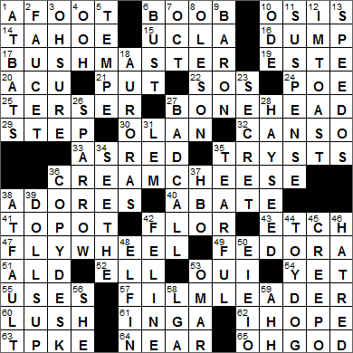 La Times Crossword Answers 2 Jan 15 Friday