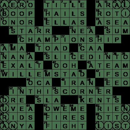 Golfe de la Gonáve country crossword clue Archives - LAXCrossword.com