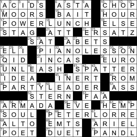 LA Times Crossword Answers 29 May 17 Monday  sc 1 st  LAXCrossword.com & Corporate world meal crossword clue Archives - LAXCrossword.com 25forcollege.com