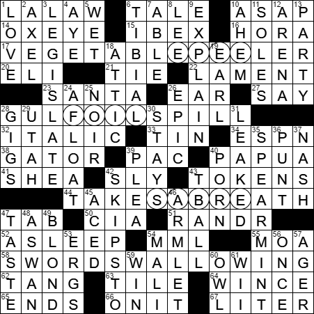 LA Times Crossword Answers 9 May 17 Tuesday  sc 1 st  LAXCrossword.com & Rummikub piece crossword clue Archives - LAXCrossword.com 25forcollege.com