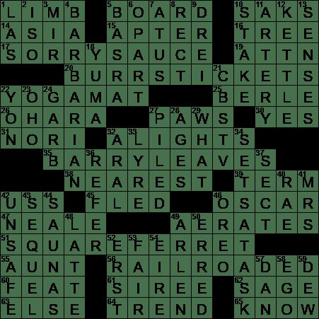 Bet both ways crossword