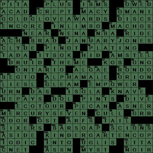 LA Times Crossword Answers 3 Sep 2017 Sunday  sc 1 st  LAXCrossword.com & Mad Men