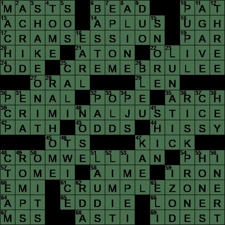 LA Times Crossword Answers 30 Aug 2017 Wednesday  sc 1 st  LAXCrossword.com & Brigantineu0027s pair crossword clue Archives - LAXCrossword.com 25forcollege.com