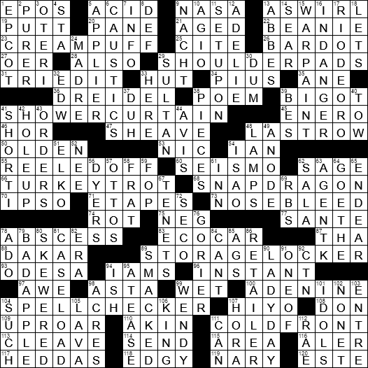 LA Times Crossword Answers 17 Sep 2017 Sunday  sc 1 st  LAXCrossword.com & Grand-scale poetry crossword clue Archives - LAXCrossword.com 25forcollege.com