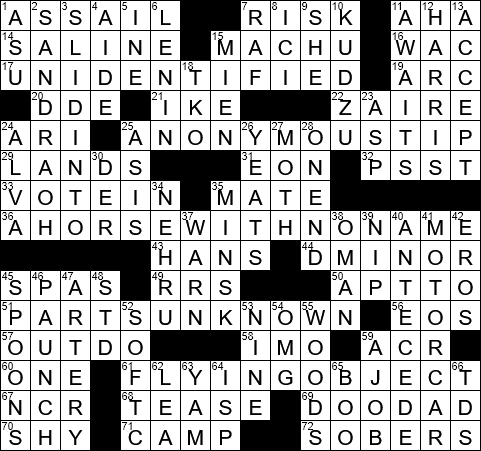 LA Times Crossword Answers 12 Sep 2017 Tuesday  sc 1 st  LAXCrossword.com & LA Times Crossword Answers 12 Sep 2017 Tuesday - LAXCrossword.com 25forcollege.com