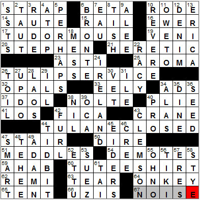 LA Times Crossword Answers 28 Sep 12, Friday