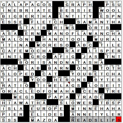 la times crossword answers 15 oct 2017 sunday autos post
