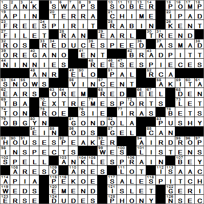 Daily Crossword Puzzle Answers - Daily Crossword Solver