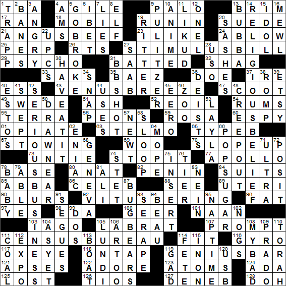 Exceptional LA Times Crossword Answers 24 Jul 16, Sunday