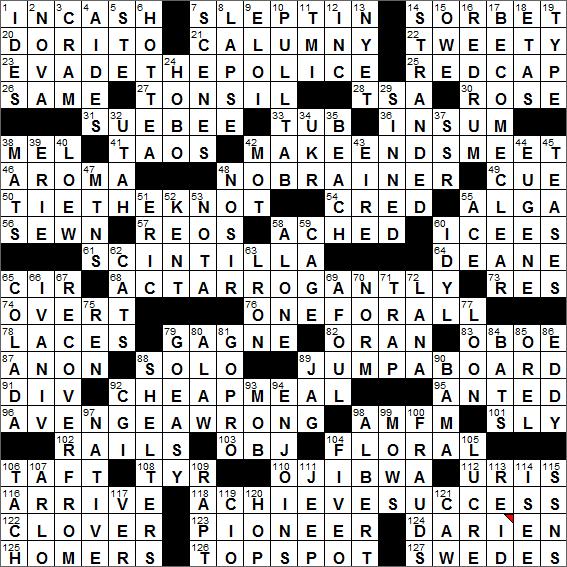 LA Times Crossword Answers 16 Oct 16, Sunday