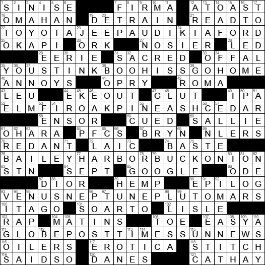 Acting as a dating agency crossword clue