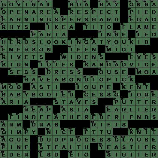 Times for vespers crossword