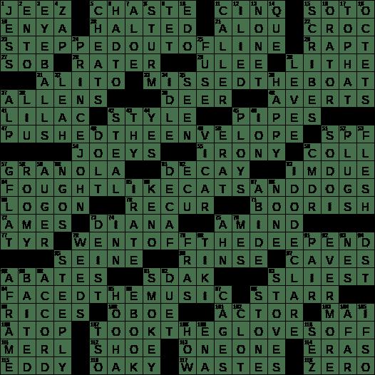 Kitchen Nook For Example Crossword: Kitchen Utensil Crossword Clue 3 6