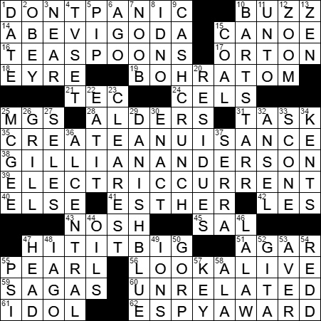 Loot playwright crossword clue archives laxcrossword la times crossword answers 27 may 17 saturday ccuart Gallery