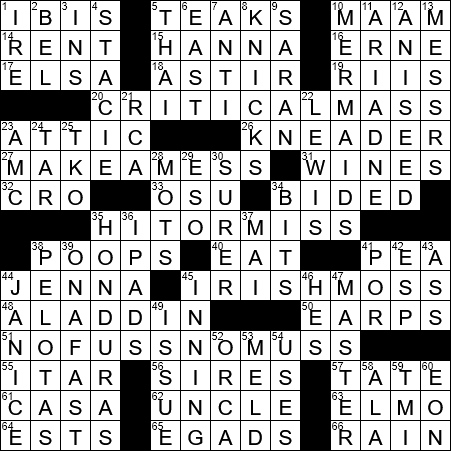 crossword dating term usually abbreviated