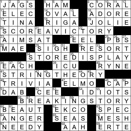 Unbroken director angelina crossword clue archives laxcrossword la times crossword answers 23 aug 2017 wednesday malvernweather Image collections