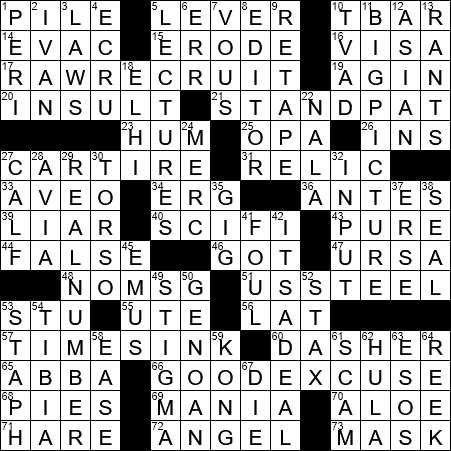 Lays Chips In A Can Brand Crossword Clue Archives Laxcrossword