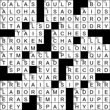 Inundating crossword help