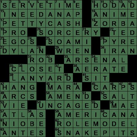 La times crossword answers 2 dec 2017 saturday laxcrossword ccuart Images