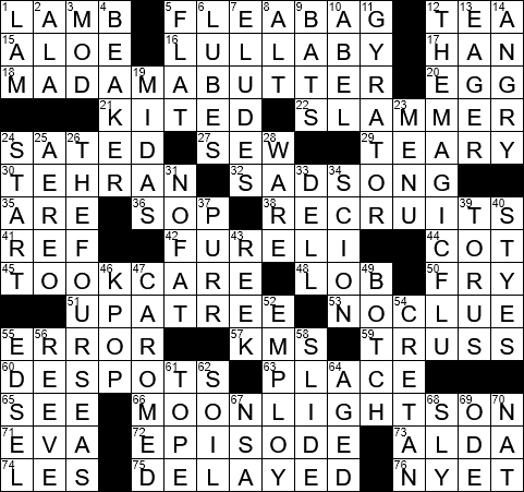essay your likings crossword