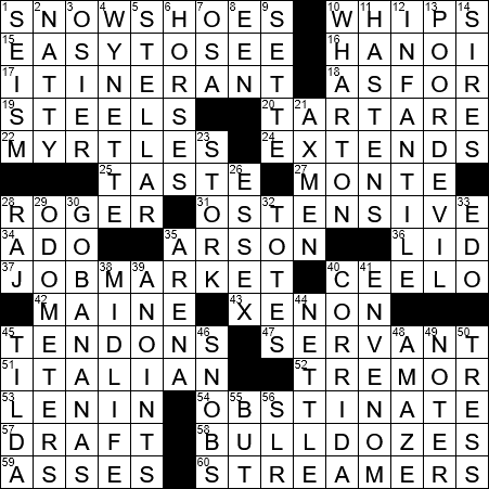 Old dating acronym crossword clue