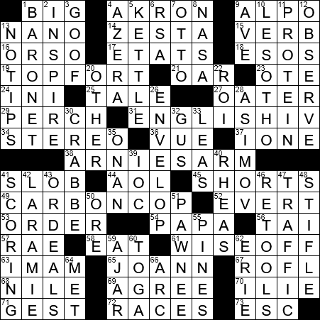 Hookup Term Usually Abbreviated Crossword Clue