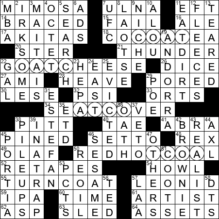 Jamaican Term For Hot Chocolate Crossword Clue Archives Laxcrossword Com