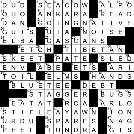 Married people crossword clue