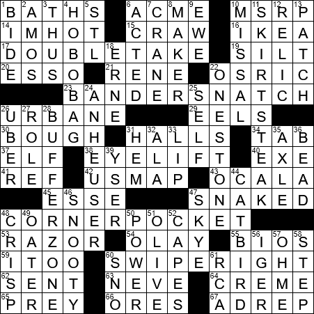 Historical dating abbr crossword