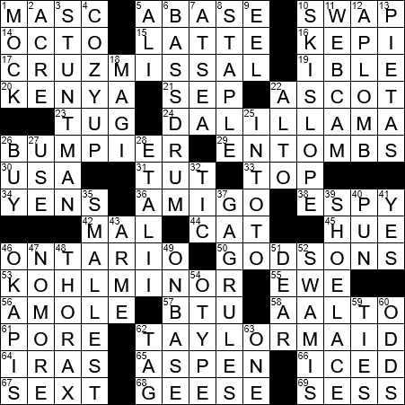 recipe: have a wash crossword clue [27]