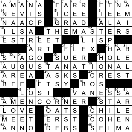 Montreal Cana N To Hockey Fans Crossword Clue Archives Laxcrossword Com