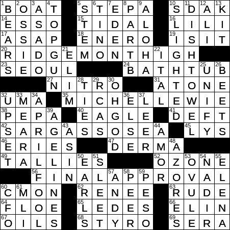 News Article Intros Crossword Clue Archives Laxcrossword