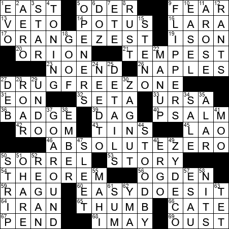 Mathematical Proposition Crossword Clue Archives Laxcrossword Com