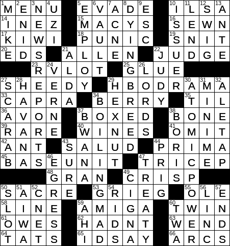 Laxcrossword answers to the los angeles times crossword advertisement ccuart Images
