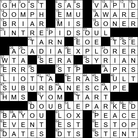 One Hiking In A Maine National Park Crossword Clue Archives Laxcrossword Com