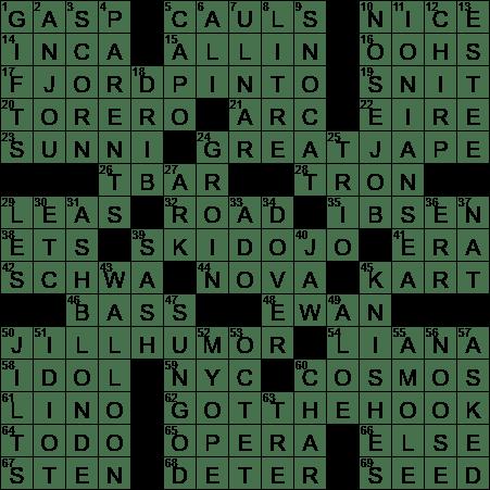 Where A Sensei Teaches How To Slalom Crossword Clue Archives Laxcrossword Com