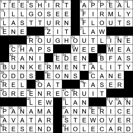 Overly Defensive Stance Crossword Clue Archives Laxcrossword Com