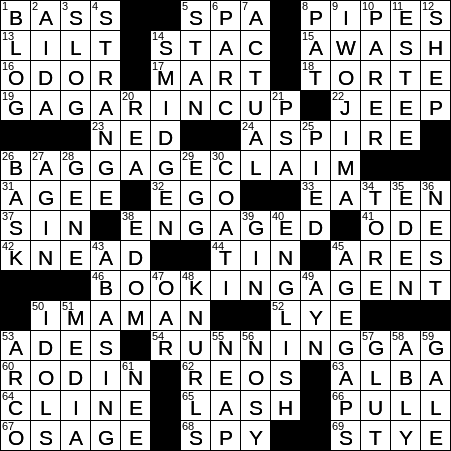recipe: have a wash crossword clue [11]