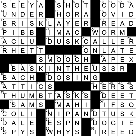 Hitchhiking And Texting Crossword Clue Archives Laxcrossword Com