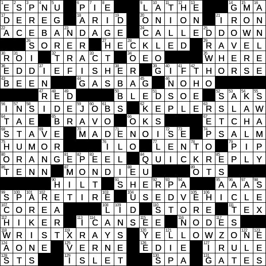 channel 4 dating show crossword clue