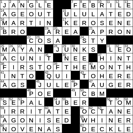 Irregular Paper Edge Crossword Clue Archives Laxcrossword Com