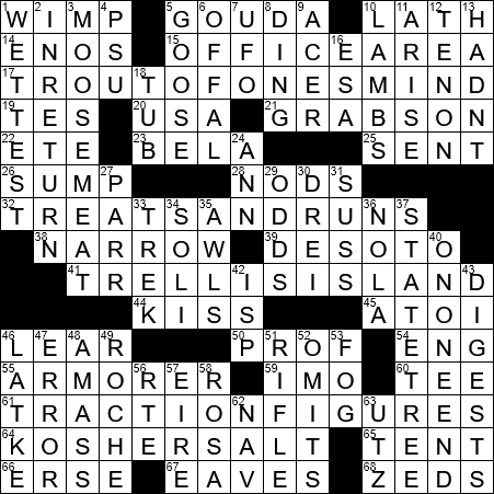 Microwave Signal Sometimes Crossword Clue Archives Laxcrossword