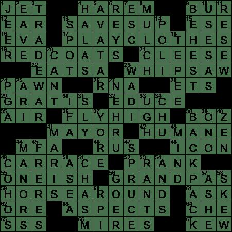 Stop dating crossword clue
