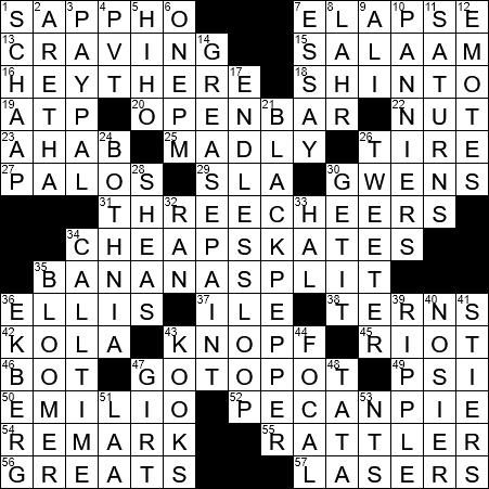 La Times Crossword 1 Dec 18 Saturday Laxcrossword Com