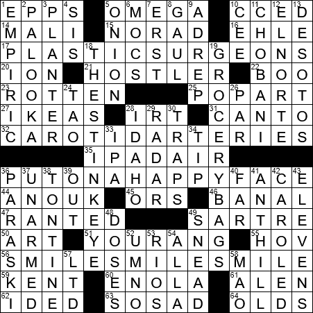 without standards crossword