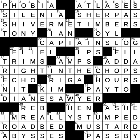 Aesthetic Feature Crossword Clue Archives Laxcrossword Com