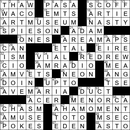 Soldiers Support Gp Since 1944 Crossword Clue Archives Laxcrossword Com