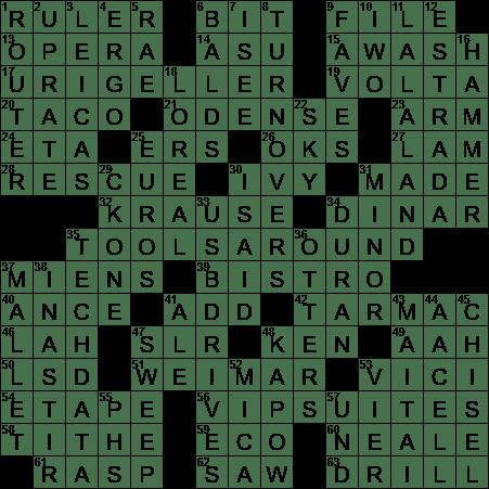 defeats regularly crossword clue
